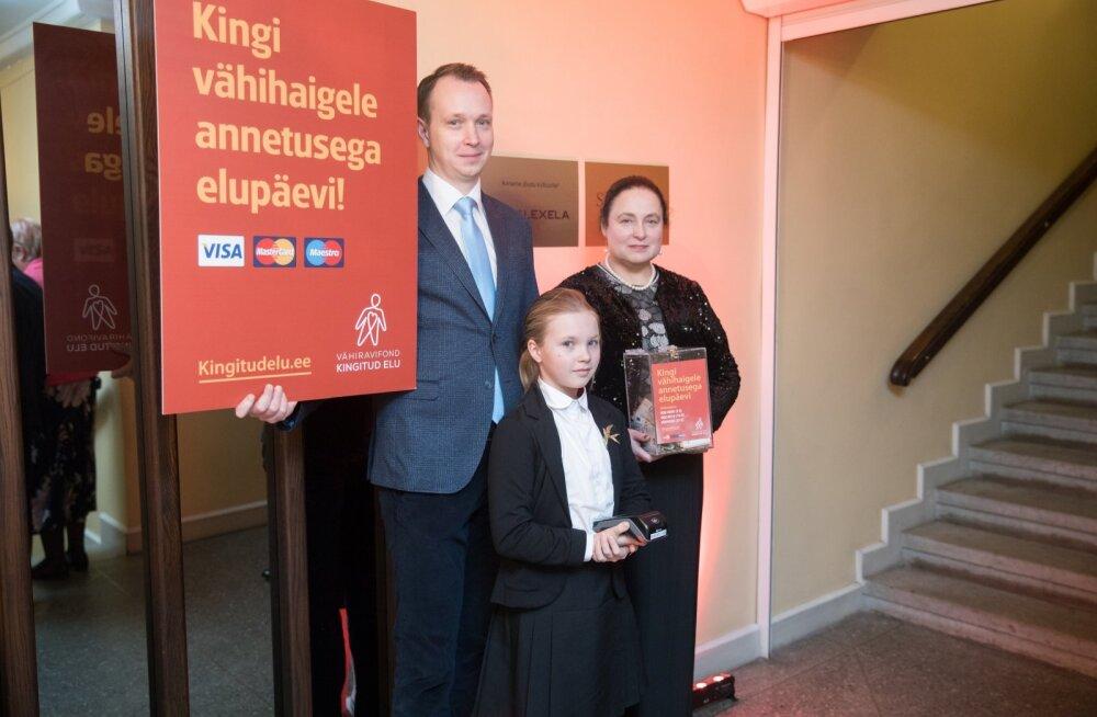 Vähiravifondi Kingitud Elu kuue aasta töö: 1000 abi saanud eestimaalast ja 10 miljonit eurot annetusi