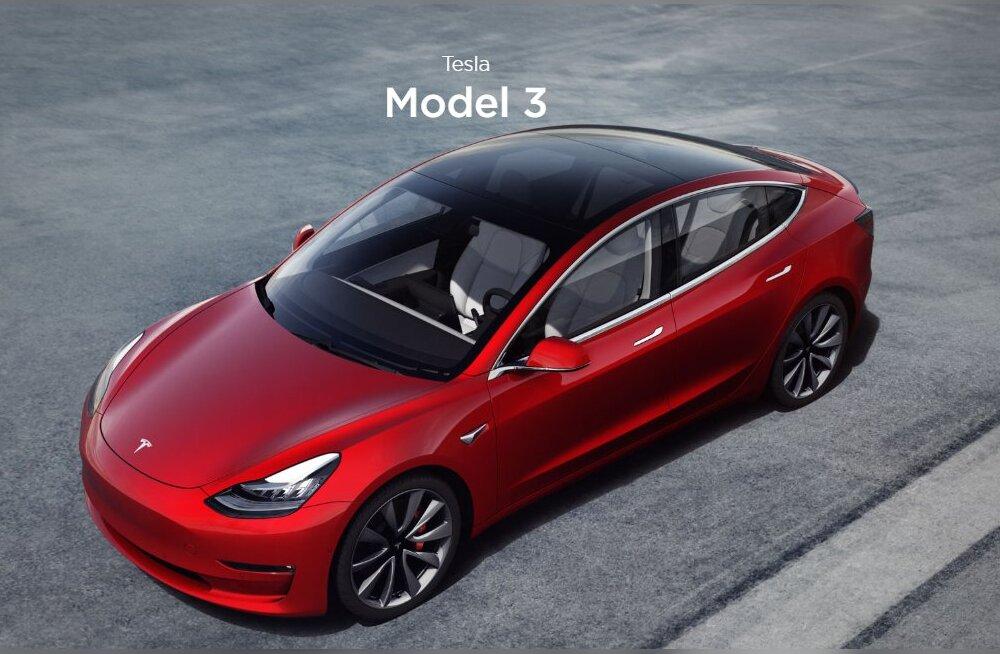 """""""Tesla on meist kuus aastat ees!"""" Model 3 uurimine hirmutas suuri autotootjaid"""