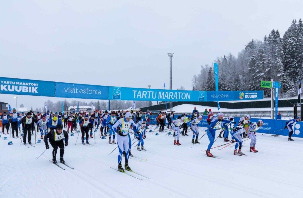 Tartu Maratoni programm stardib pühapäeval