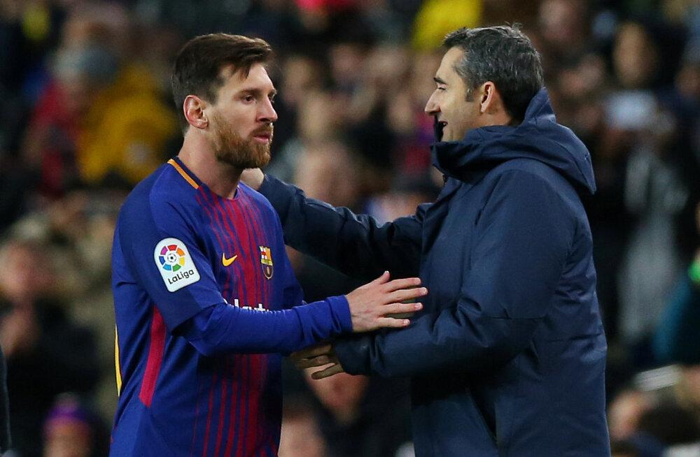 Lionel Messi ja Ernesto Valverde