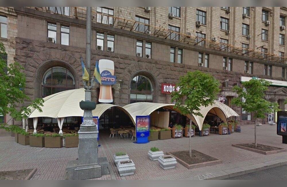 Chelsea fännid said Kiievis maskides huligaanidelt peksa