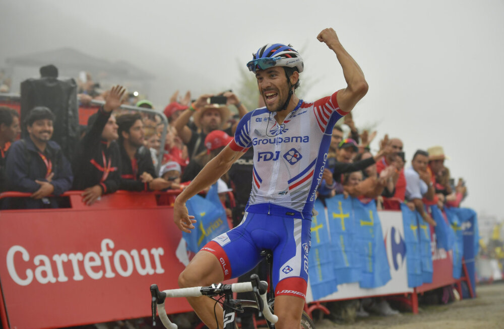 VIDEO | Vuelta etapi võitis Thibaut Pinot, liidrina jätkab Simon Yates