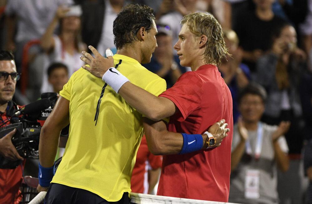 Šokk-kaotuse saanud Rafael Nadal veel esireketiks ei tõuse