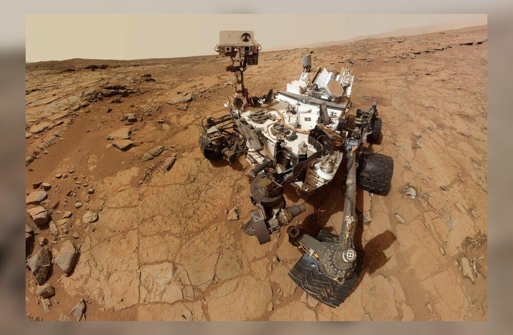 Marsile lendavad astronaudid saaksid ränga doosi kahjulikku kiirgust