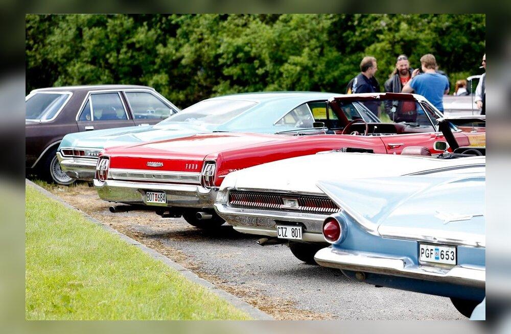 USA Autod Rootsist täna Eestis 2013.06.15