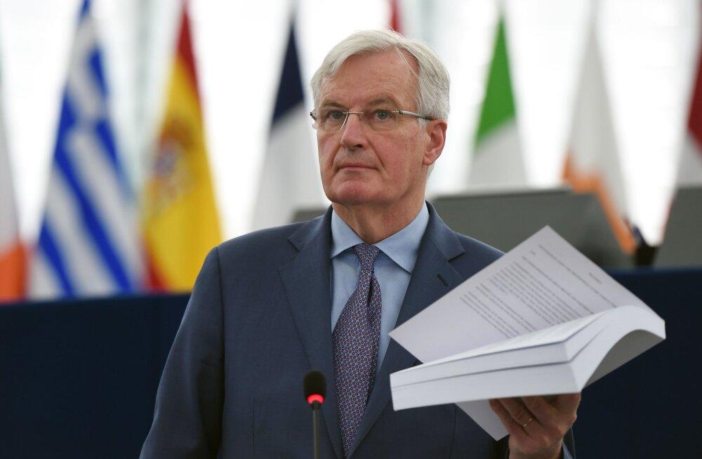 EL-i pealäbirääkija Barnier: miks me peaksime Brexiti-läbirääkimisi pikendama?