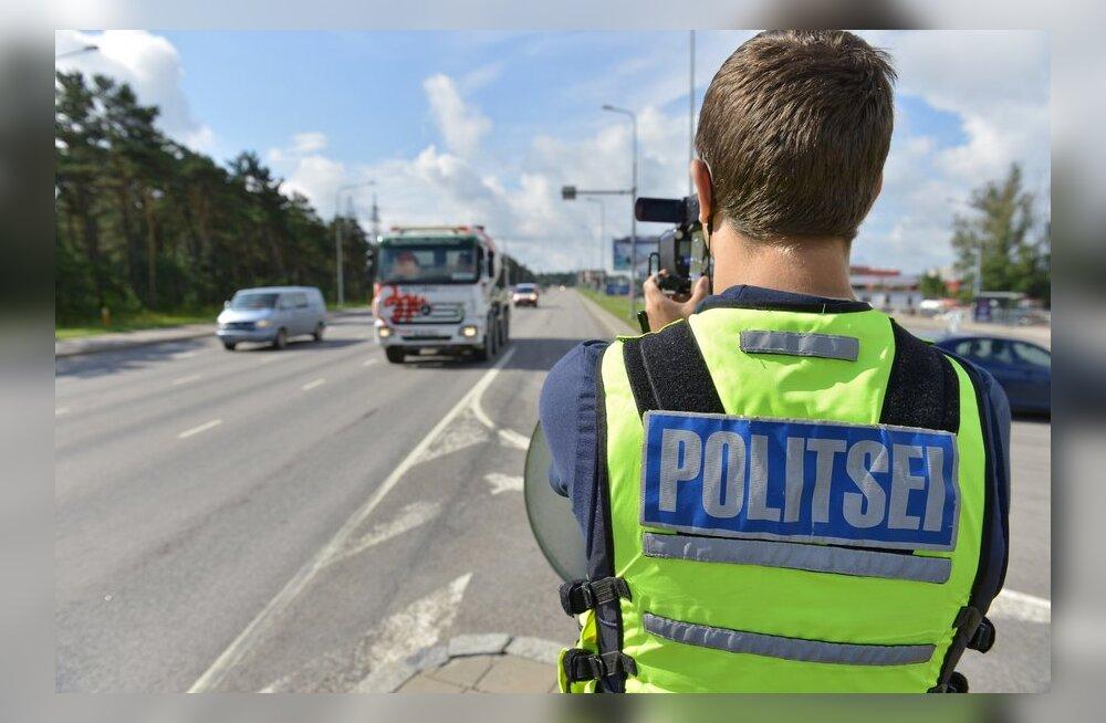 Politsei: taatlemata kiirusmõõtja lugu on plekk meie mundril
