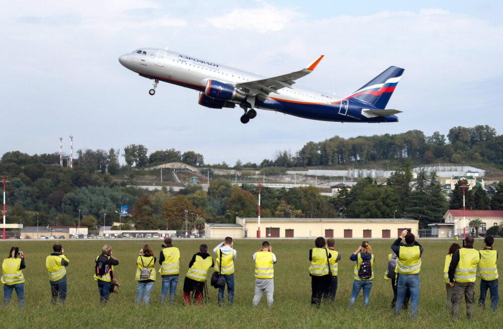 Aerofloti reisilennukil tuli piloodi surma tõttu keset lendu hädamaanduda