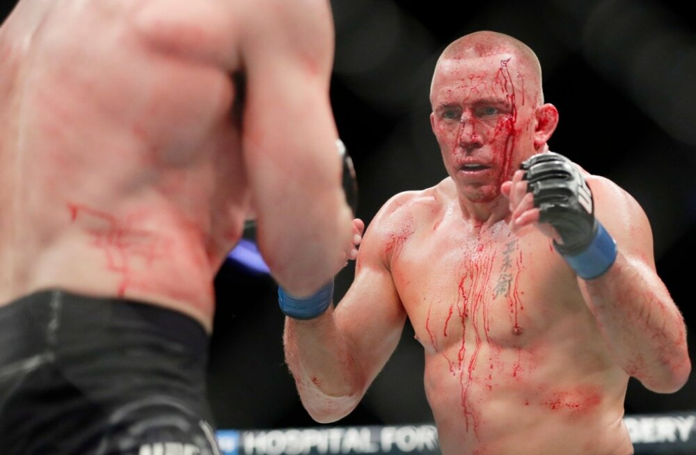 Georges St-Pierre (paremal).
