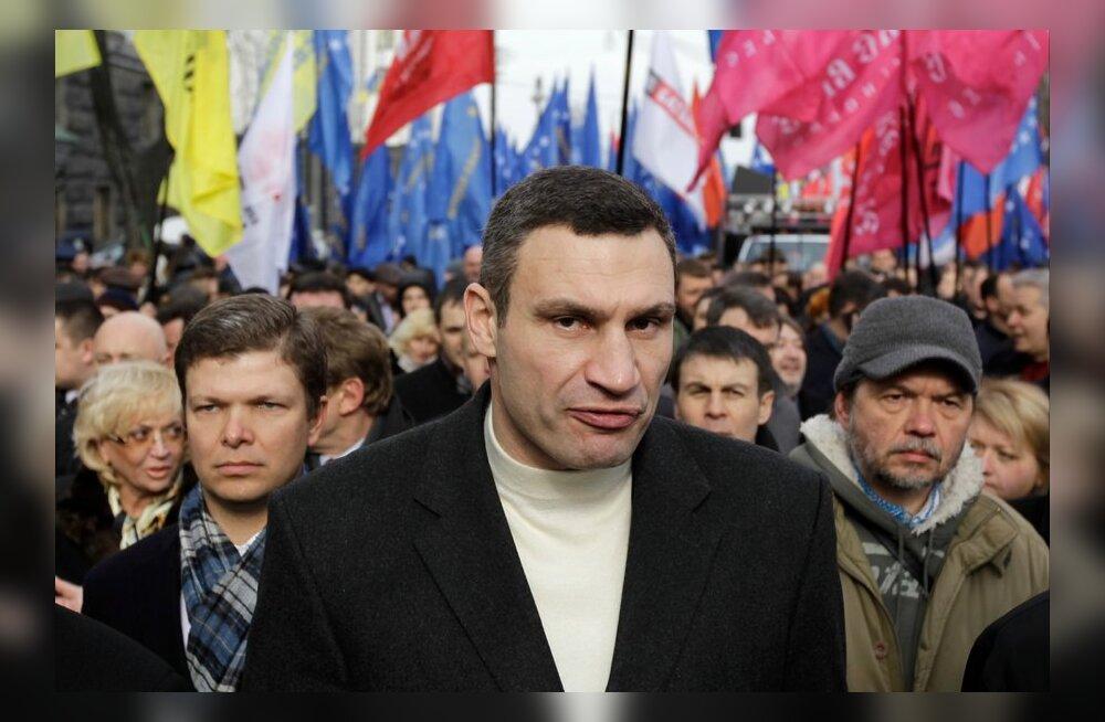 Ukraina opositsioon kavatseb blokeerida Kiievi kohtud