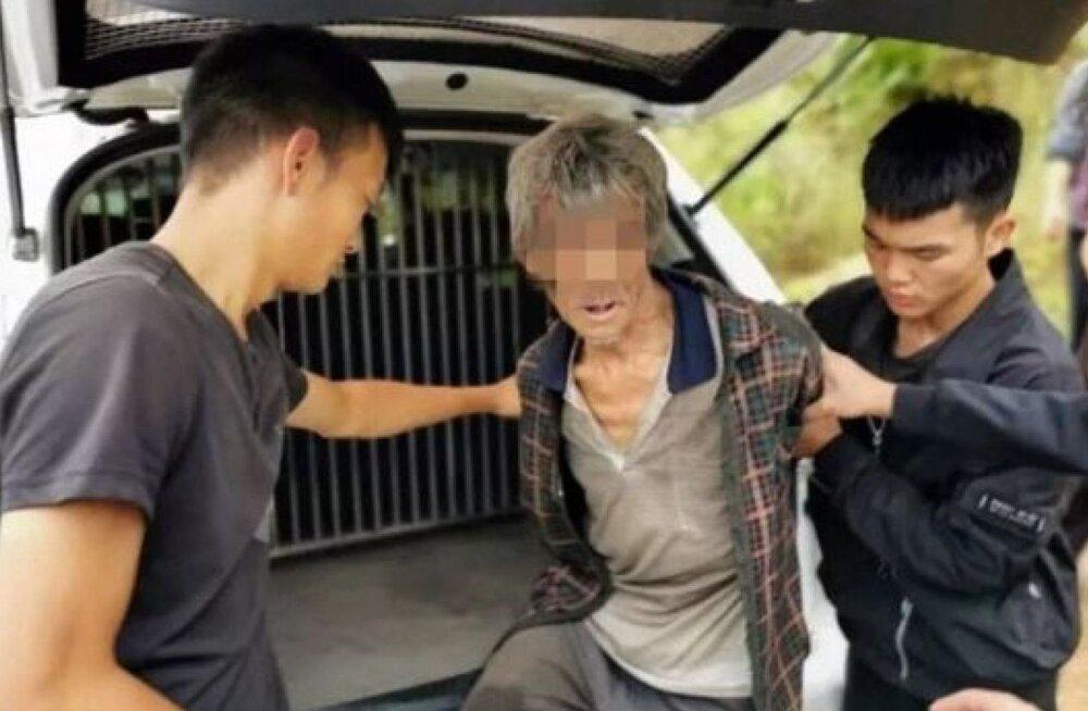 17 aastat tagasi vanglast põgenenud mees leiti koopast