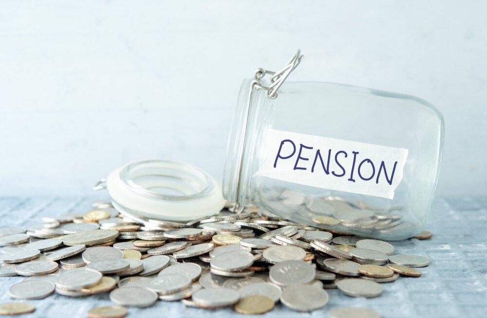 Pensionipõlveks raha kogumine.