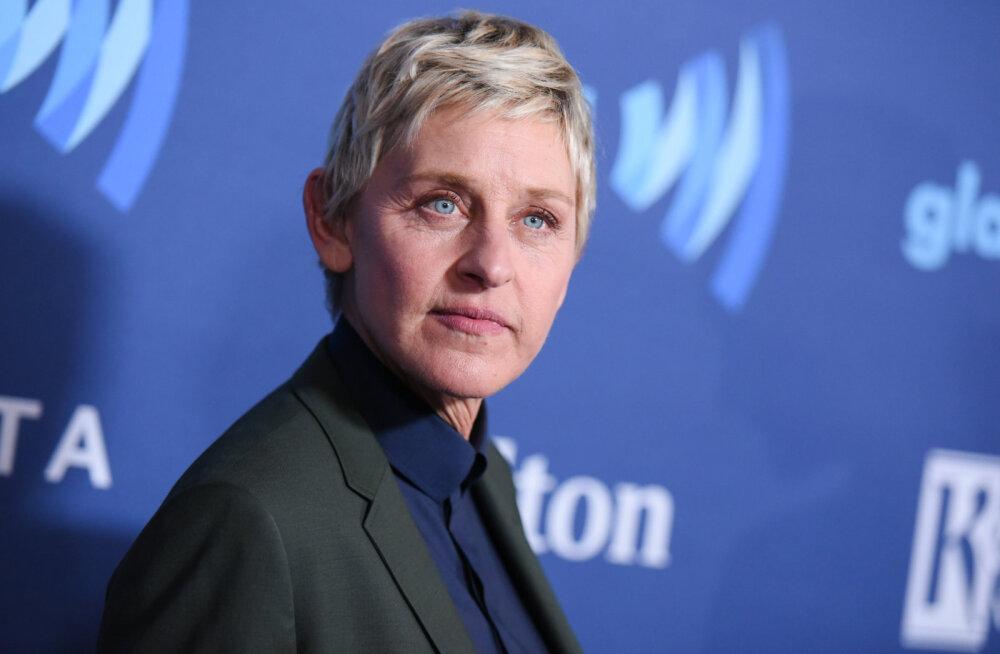 Staarsaatejuht Ellen DeGeneres süüdistab oma kasuisa seksuaalses ahistamises, kui naine oli kõigest 15aastane