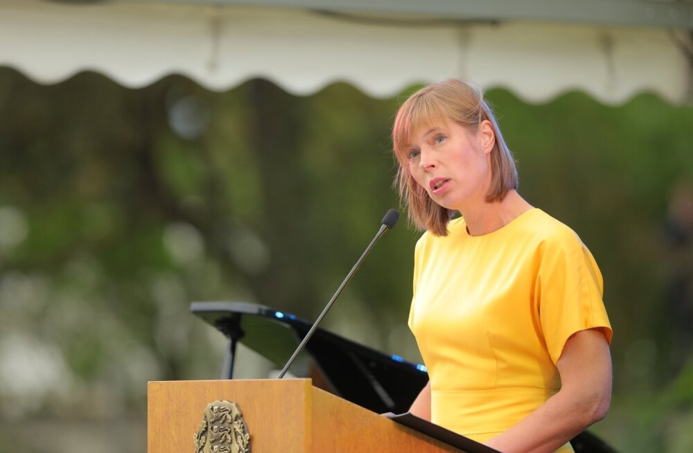 Президент ЭР Керсти Кальюлайд предупредила в своей речи об опасности самооккупации