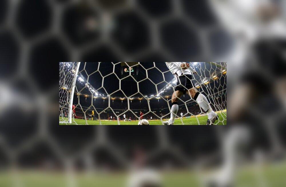 jalgpall, värav