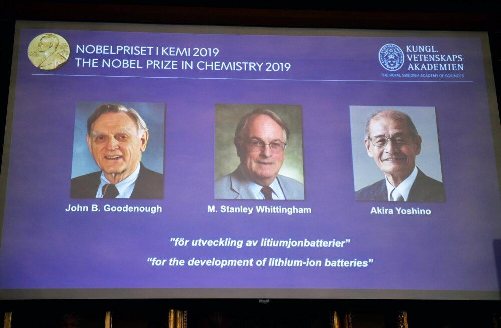 Нобелевскую премию по химии присудили за разработку литийионных батарей