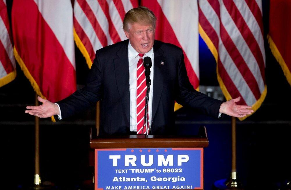 Donald Trump suunab suure osa kampaania jaoks saadud annetustest enda või pereliikmete firmadesse