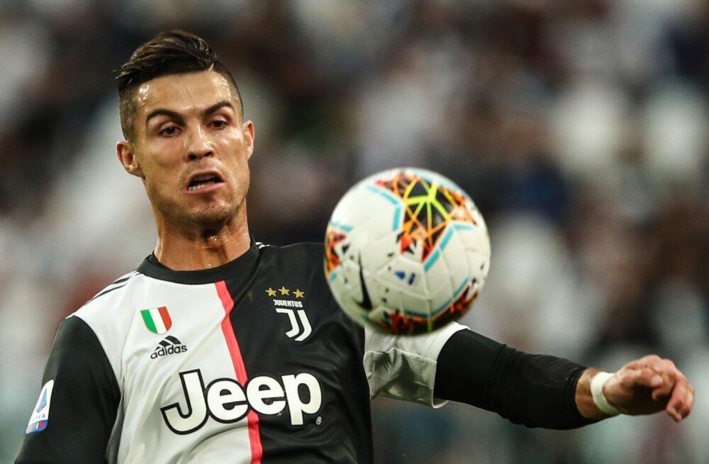 Ronaldo penalti päästis Juventuse häbist, Buffon tegi hooaja debüüdi