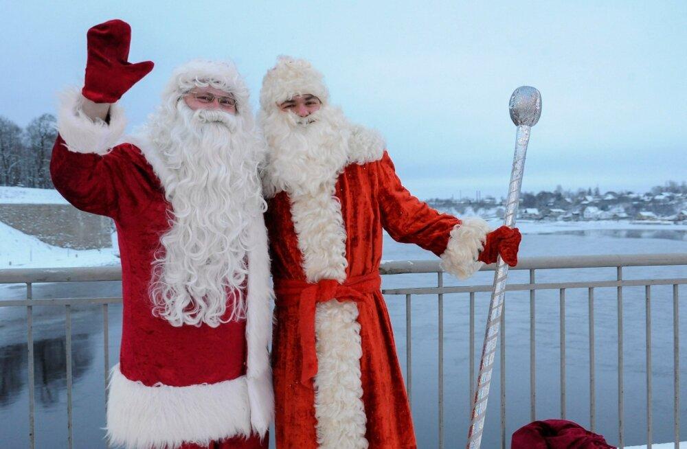 Jouluvana ja Ded Moroz Narvas