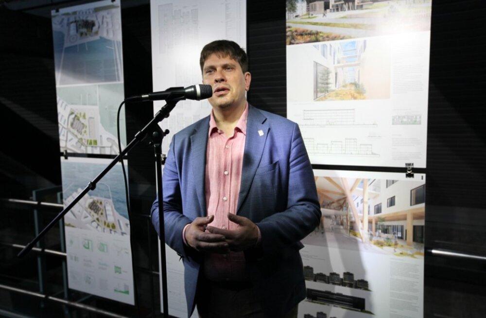 Keskkonnamaja arhitektuurikonkurss ja näitus.