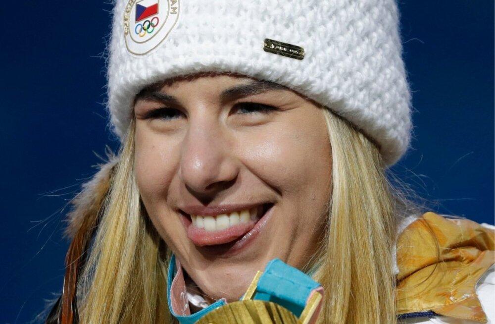 Ester Ledecká näitas rivaalidele keelt, võites üllatuslikult olümpiakulla.