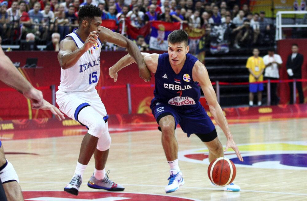 Korvpalli MM: täiseduga jätkav Serbia sõitis Itaaliast üle, Hiina põrus kodupubliku ees täielikult