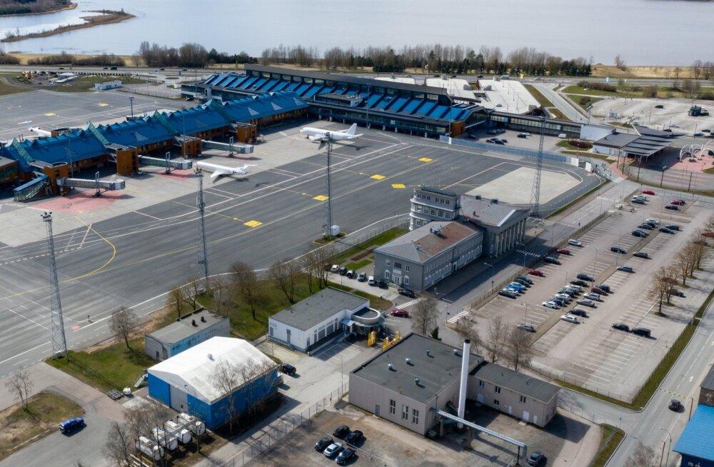 Tallinna Lennujaam droonifotod