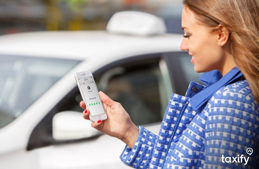 Итоги первой недели работы Taxify в Нарве: возможно, фирма будет доплачивать водителям и после ноября