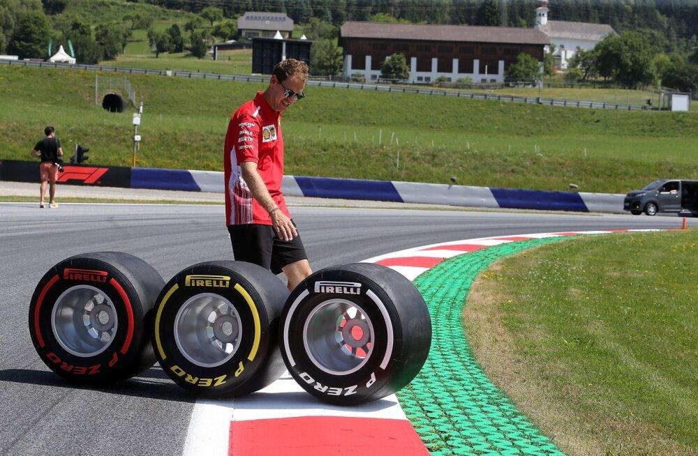 F1 tiimid tahavad poole hooaja pealt 2018. aasta rehvid kasutusele võtta