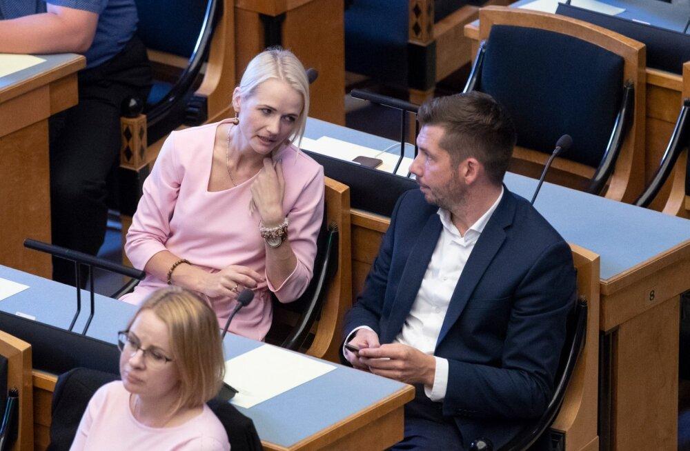 Jüri Ratase umbusaldamine Riigikogus