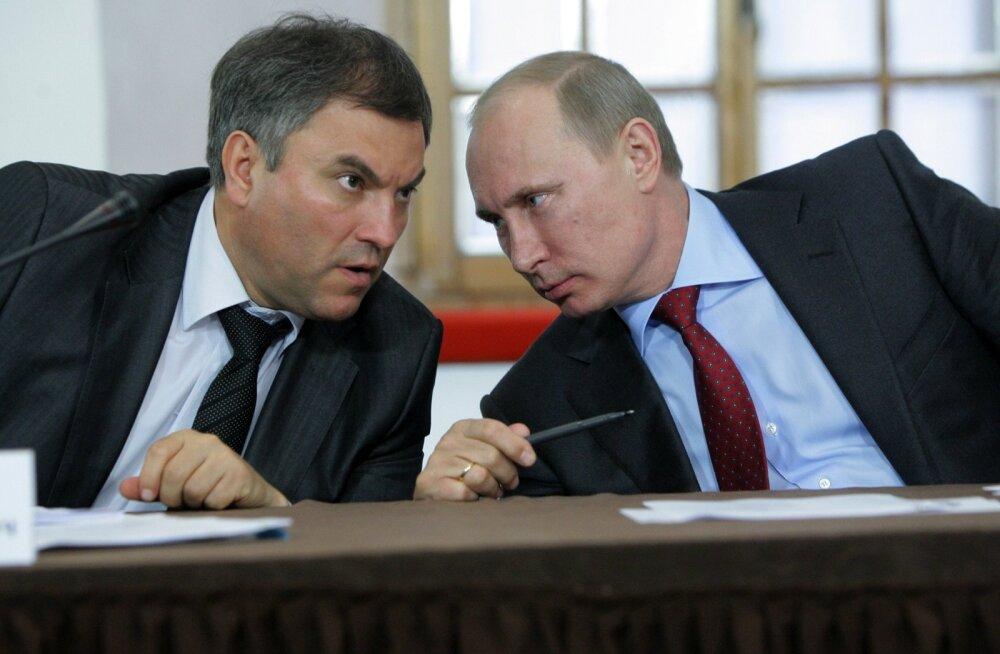 Putin, Volodin