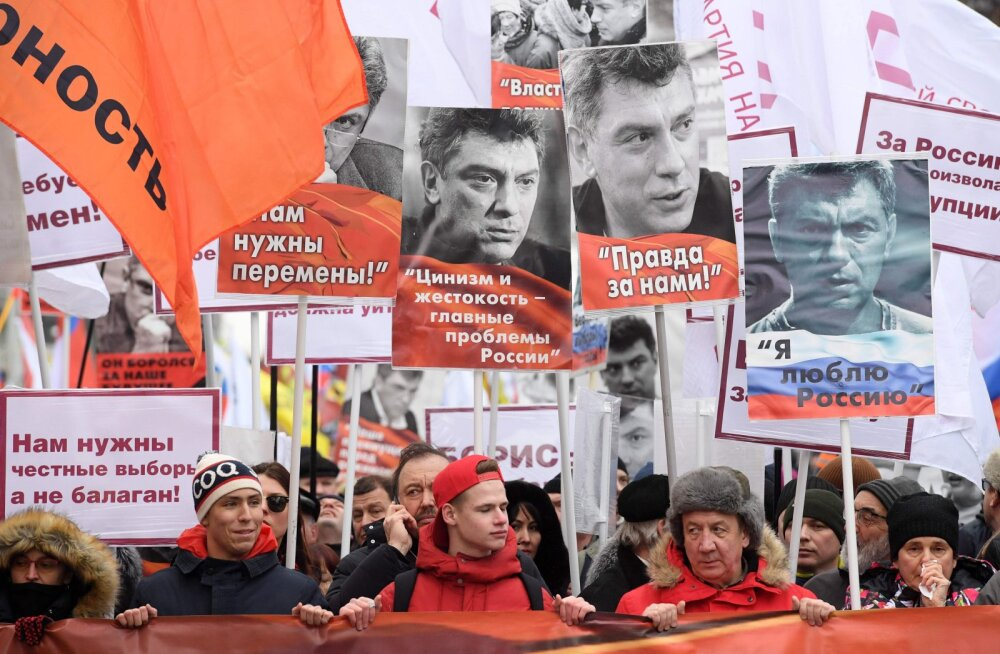 В России вспоминали Бориса Немцова