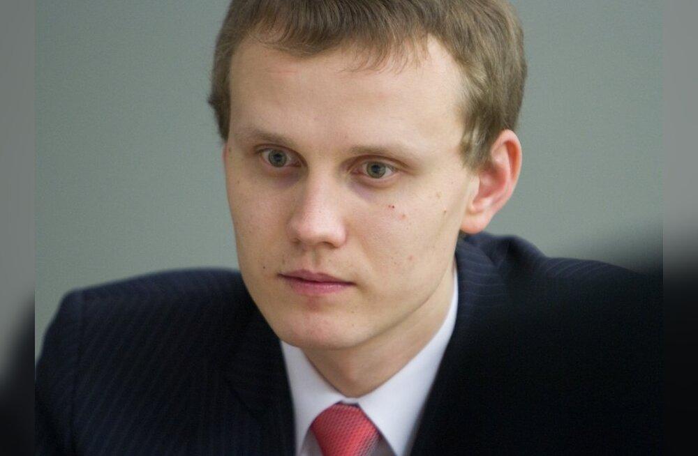 Keskerakonna peasekretär Priit Toobal