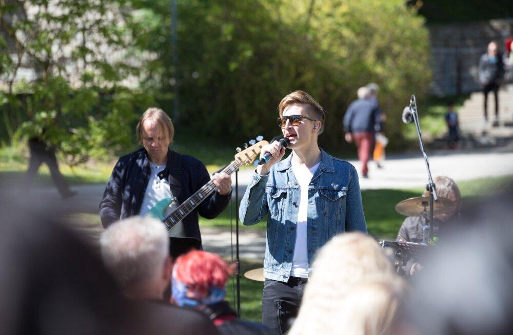 Lauluga maale Tallinna salvestus