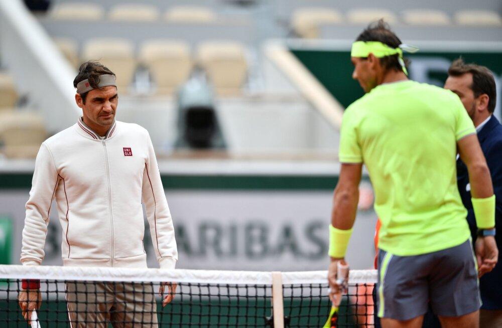 Nadali onu ja endine treener: Nadal suudab mängida Federeri vanuseni