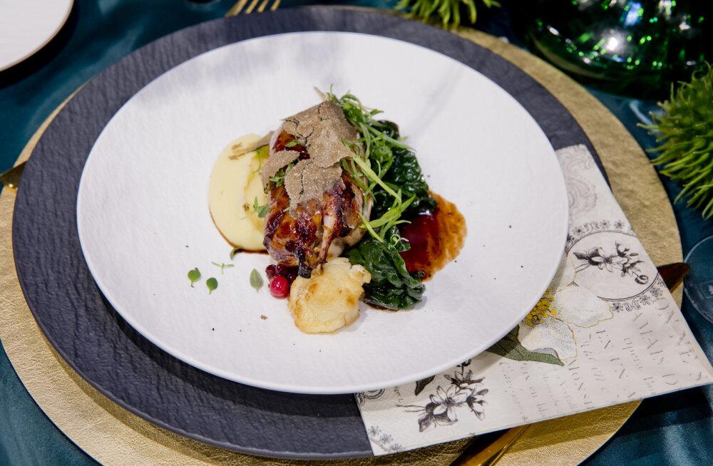 RETSEPT | Vutifilee musta trühvli täidisega, lisandiks kreemine kartulipüree