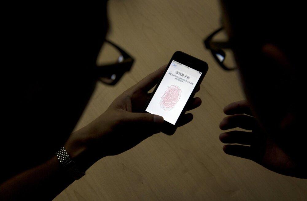 Tundub, et Apple ja Samsung ei hooligi meie sõrmejälgedest