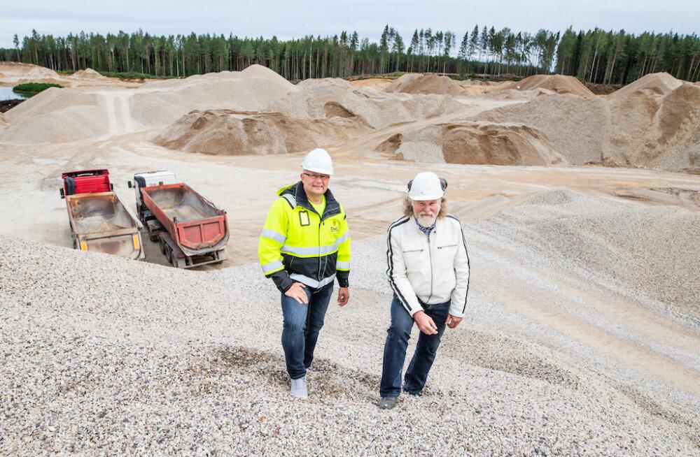 Tallinki omanikfirma ostab enamusosaluse maavarade kaevandamisega tegelevas ettevõttes