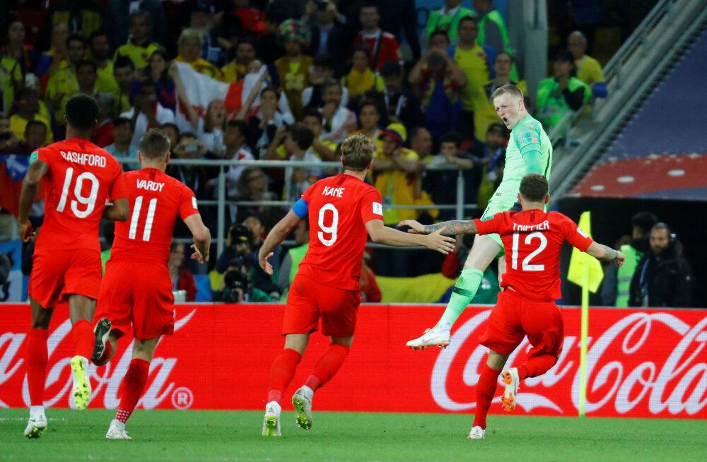 BLOGI | Needus murtud? Inglismaa võitis üle 22 aasta penaltiseeria ning alistas Kolumbia