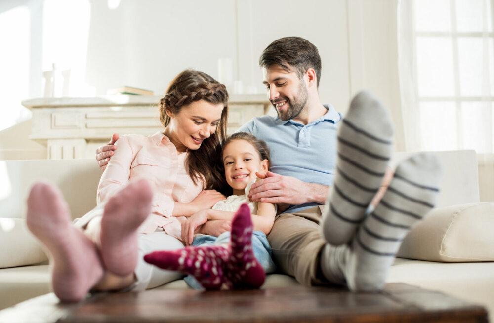 Tasakaal perekonnas algab tunnete lubamisest