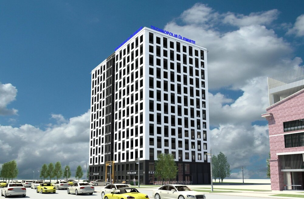 В Ülemiste City появится офисное здание имени героя авиации Ливентаaля