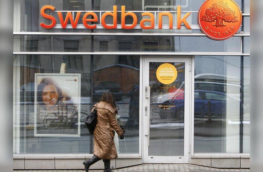 Swedbank teenis III kvartalis 323 miljonit krooni kahjumit