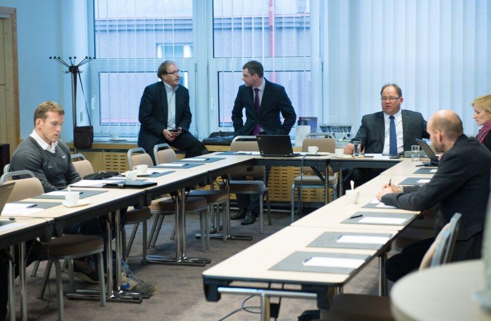 Eesti Olümpiakomitee täitevkomitee koosolek