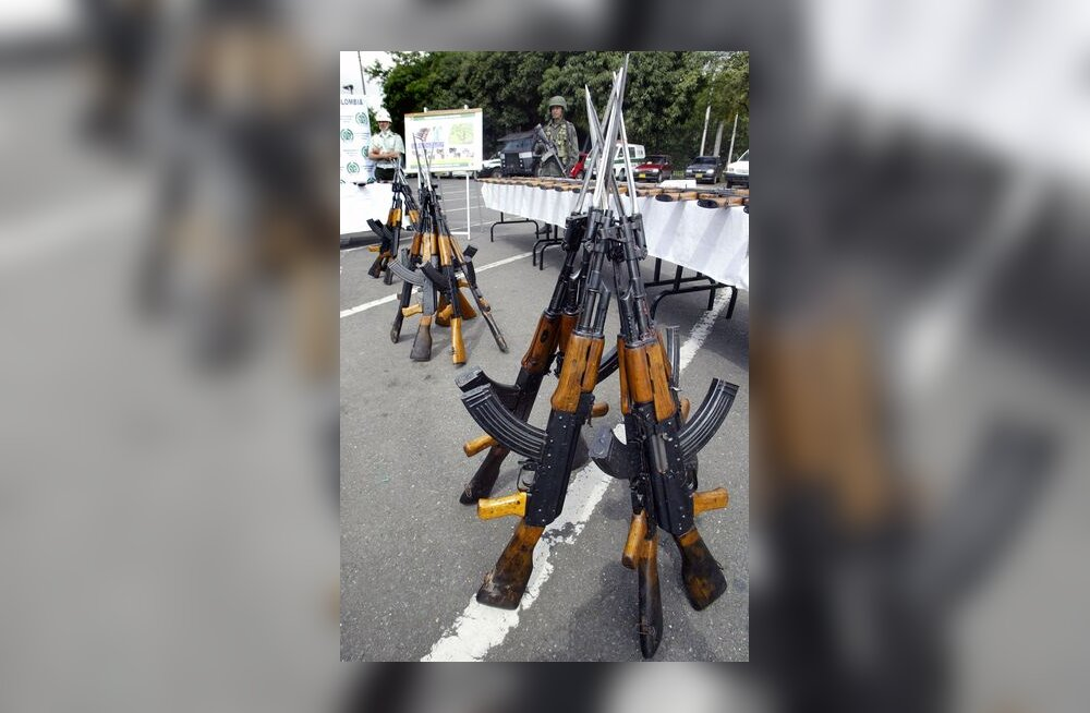 automaatrelv, Kalašnikov, püss, relv