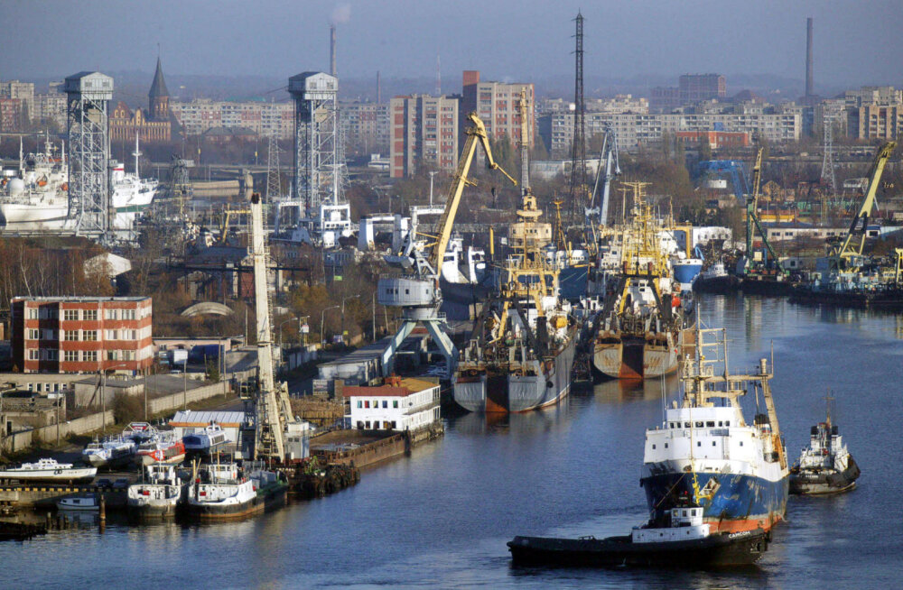 Venemaa pidas Kaliningradi oblastis kinni Eesti meeskonnaga Soome kalalaeva