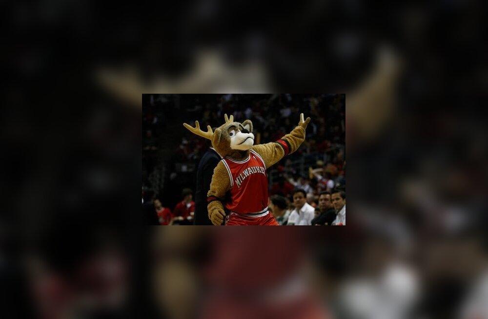 Milwaukee Bucksi maskott Bango, NBA