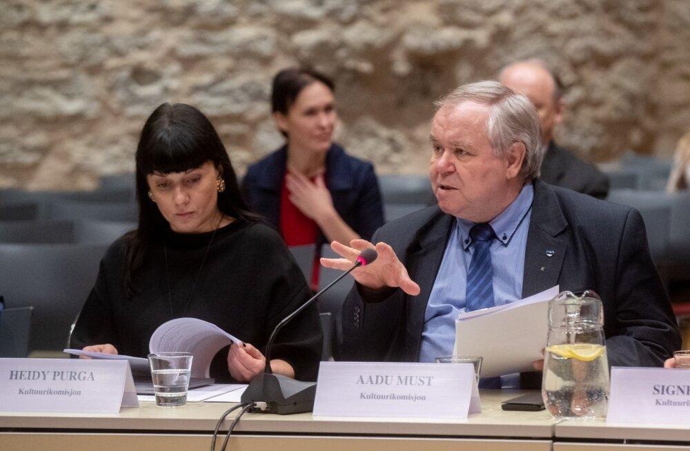 Kultuurikomisjon päris avalikul koosolekul aineõpetajate liitude ja seltside nõu.