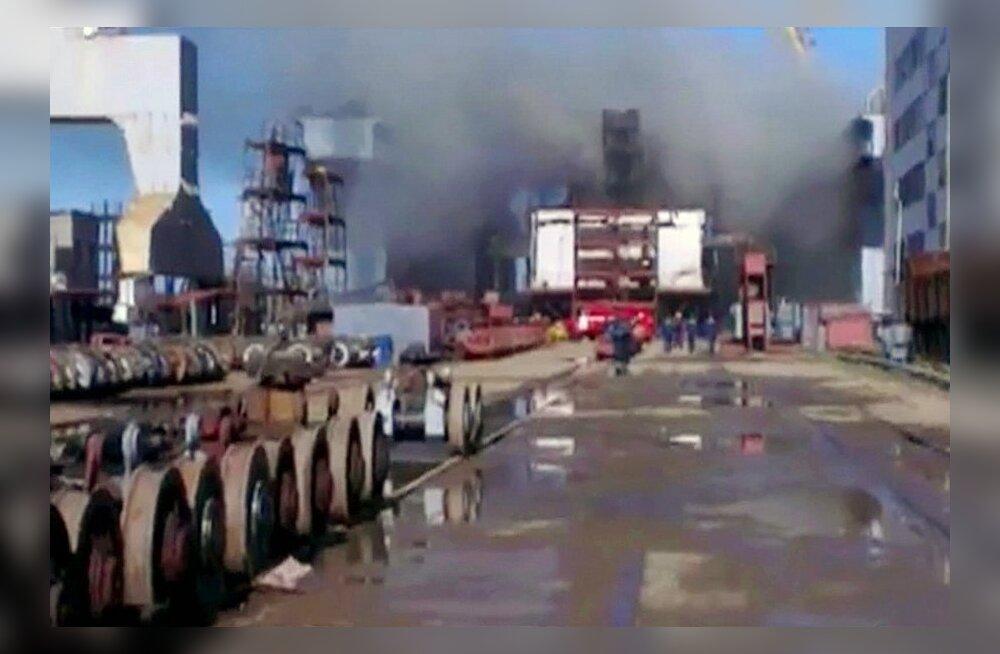 Põlengut Vene tuumaallveelaeval ei saadud kohe kustutada, sest tulekustuti oli tühi