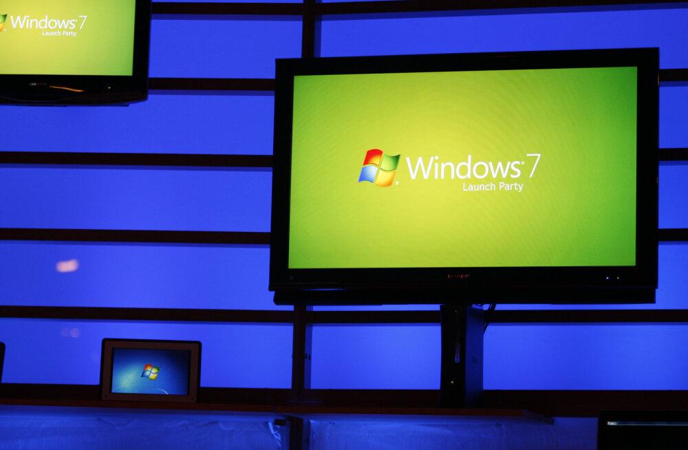 Kui palju maksma peab, et Microsoft pensionil opsüsteemi Windows 7 sinu tarbeks elus hoiaks?
