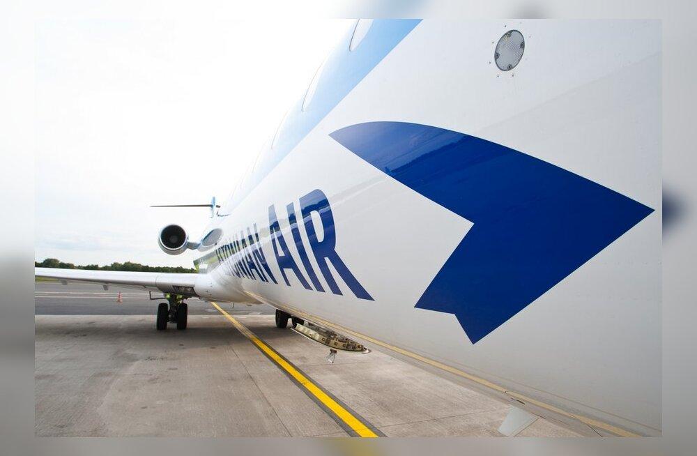 Estonian Airi lennuk pidi tehnilise rikke tõttu pärast õhkutõusu tagasi pöörduma.